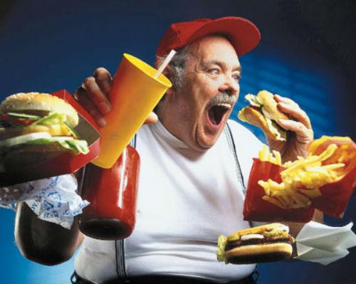 Фастфуд и лишний вес может сделать твое отцовство несчастливым