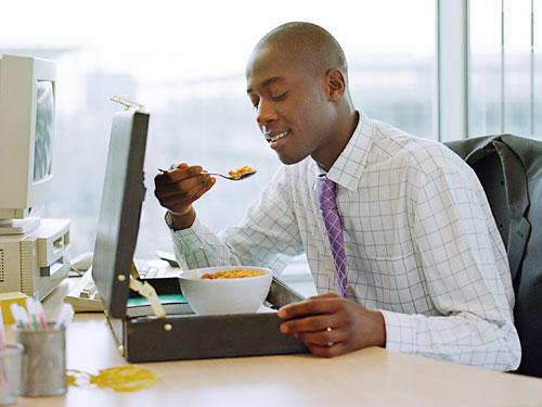 Обед - лекарство от всех стрессов