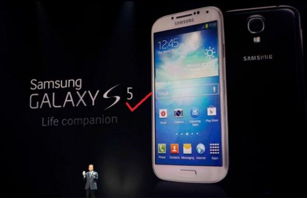 Samsung Galaxy S5 появится уже весной