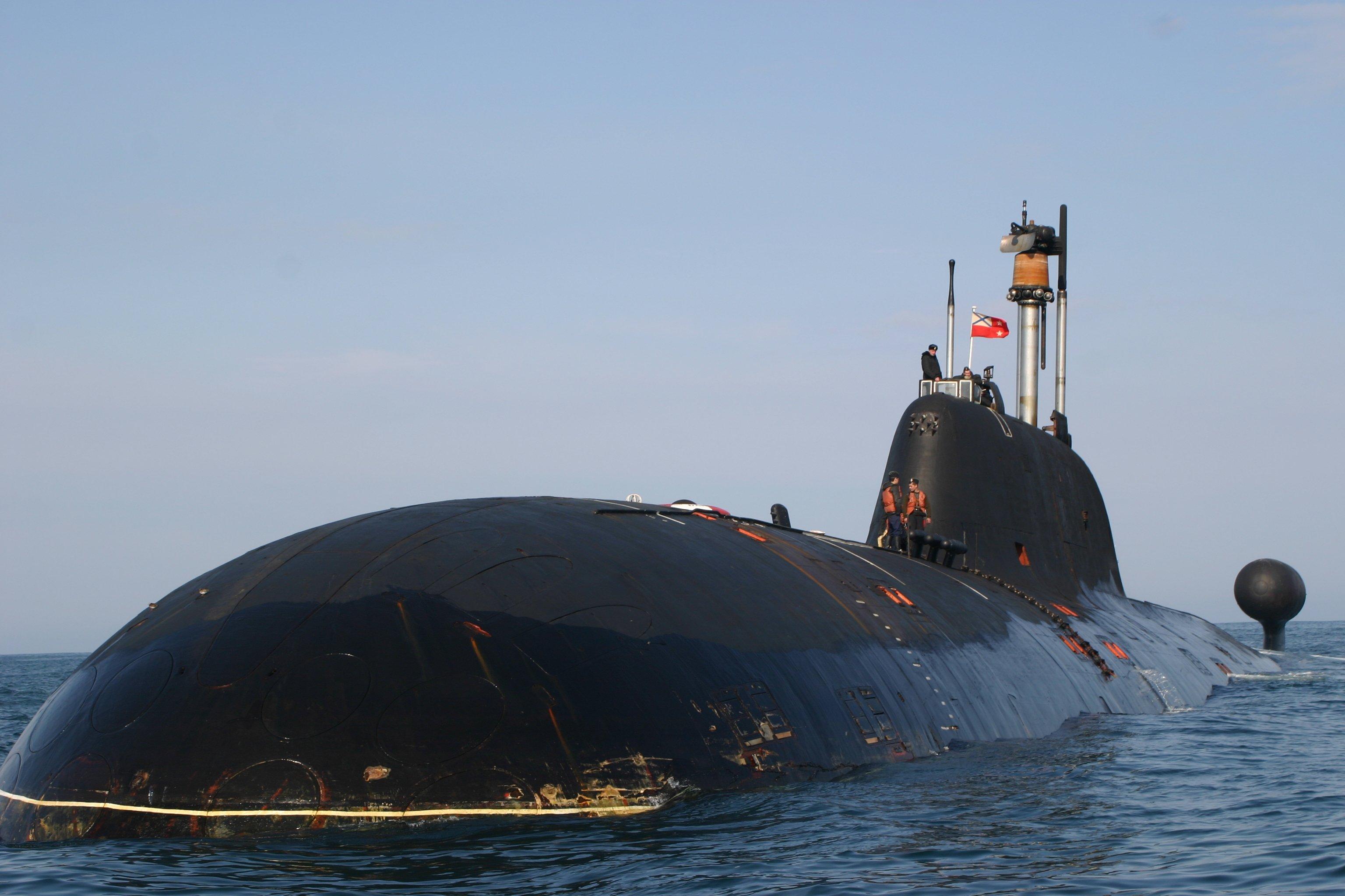 Современные субмарины плавают на ядерном топливе