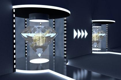Для квантовой телепортации используется разнесенная на расстояние пара сцепленных (запутанных) частиц
