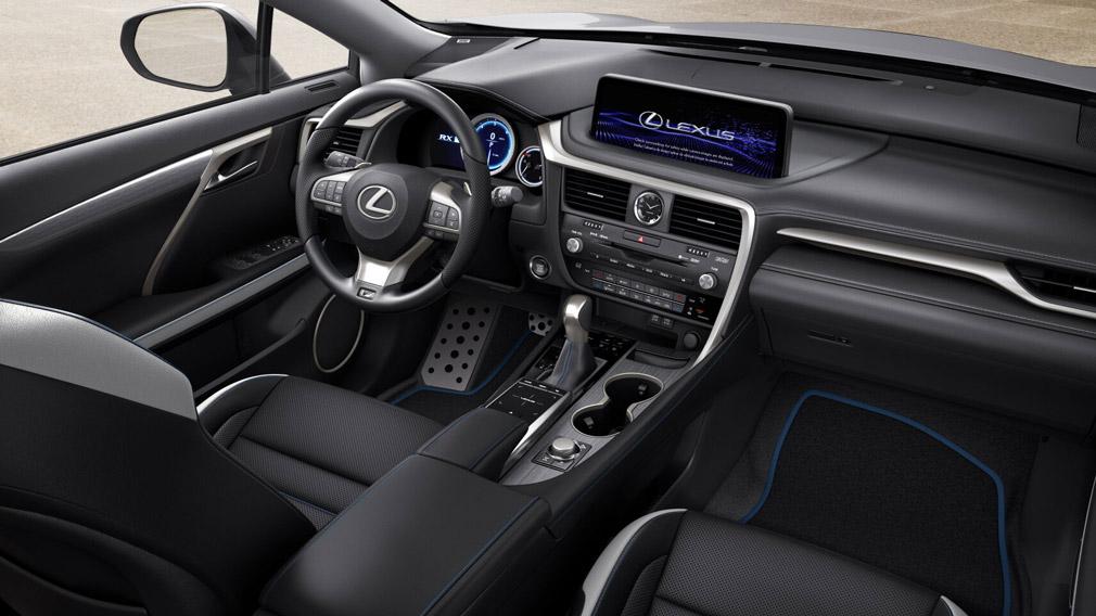 Салон Lexus RX Black Line