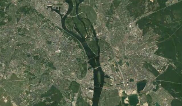 Google покажет, как поменялась Земля за три последних десятилетия