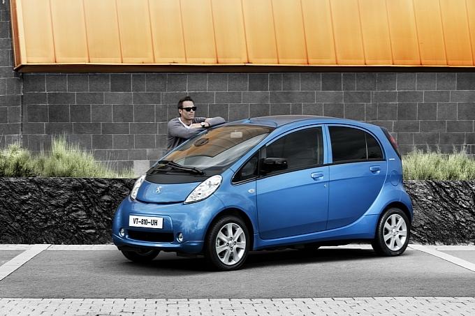 Peugeot представил «недорогой» электромобиль