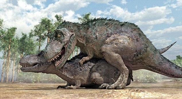 Большинство динозавров занимались сексом именно так