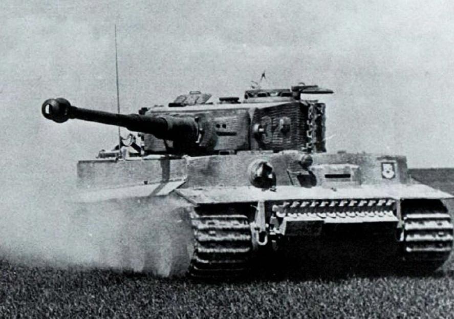 Танкисты Вермахта объезжали помет даже на Тиграх