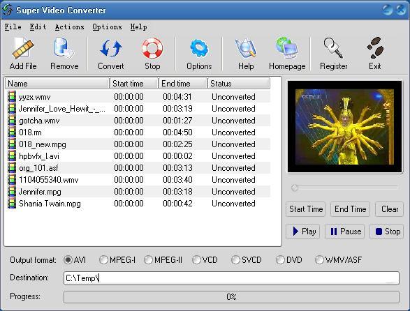 бесплатная программа конвертирования dvd