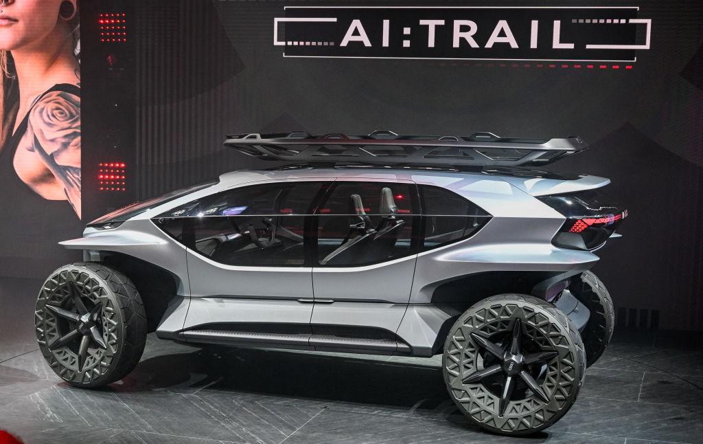 Концепт Audi AI: Trail quattro