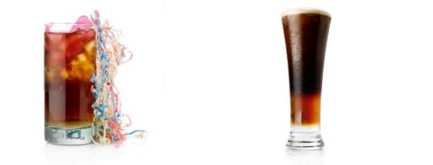 Не теряй времени - пей Малибу с темным пивом