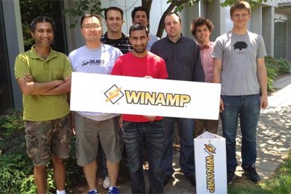 Разработчики Winamp в 2012 году