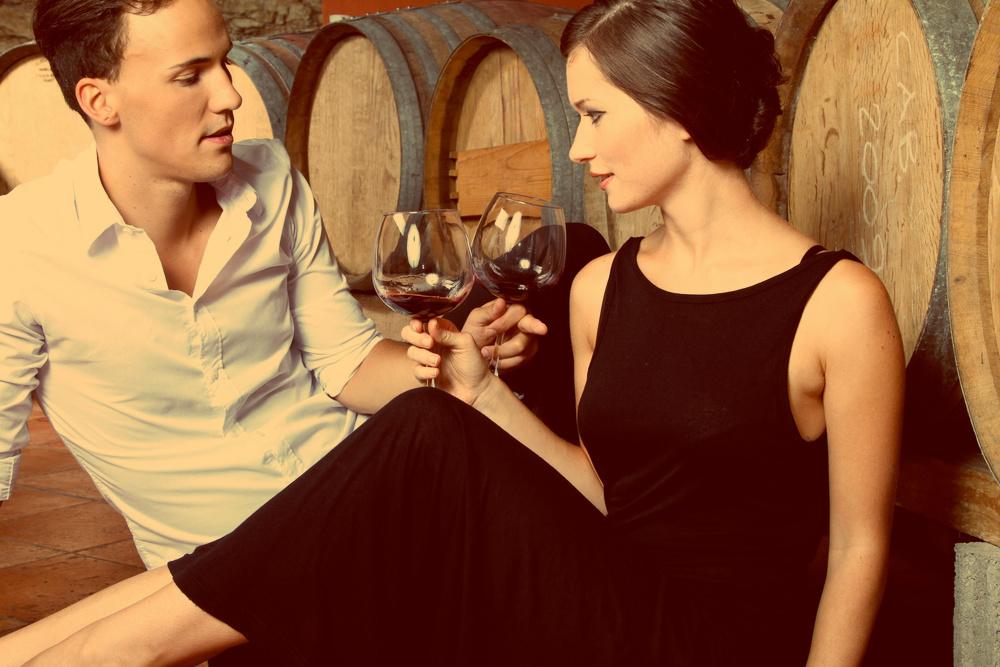 Главное в вине - милая и очаровательная компания