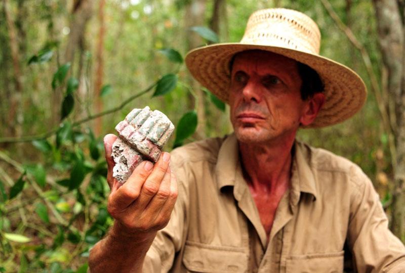 Древний город обнаружили в джунглях Мексики