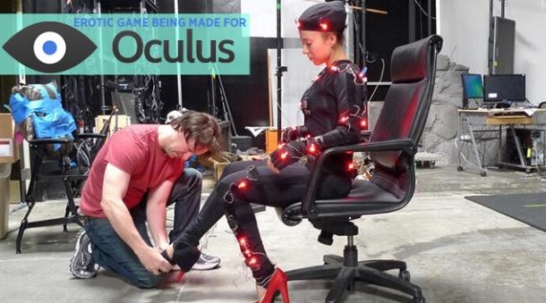 Эротика в 3D Создана первая игра для очков виртуальной реальности.