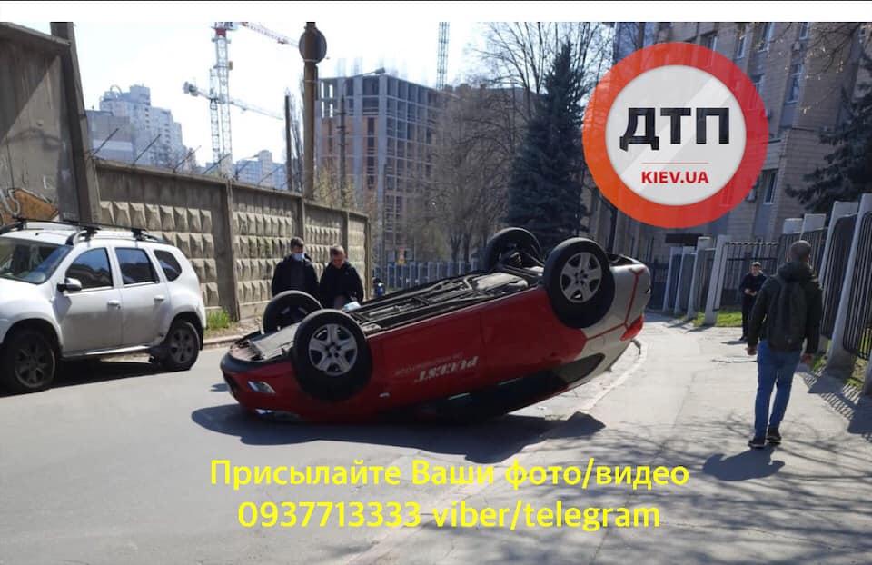 ДТП в Киеве и области: сводка за 2 апреля