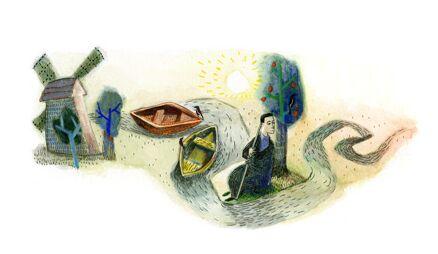 Google посвятил главную страницу Сковороде