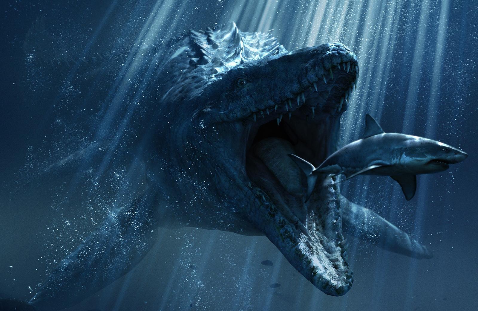 Аппетиты акул и рядом не стояли с аппетитами динозавров