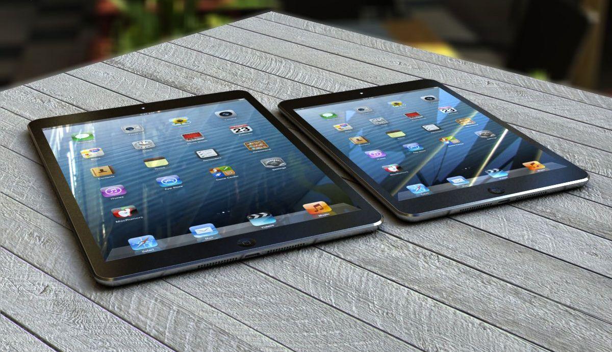 Возможно, будут выпущены iPad 5 и новый iPad mini