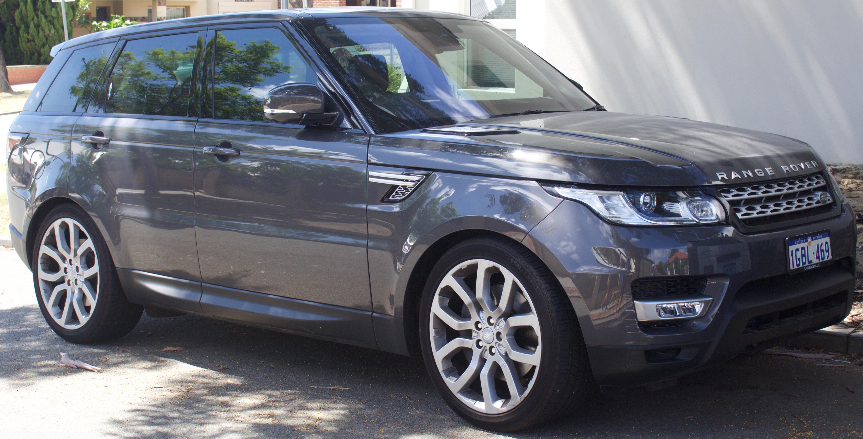Второе поколение Range Rover Sport (иллюстративное фото)