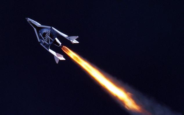 SpaceShipTwo испытали в пустыне Мохаве