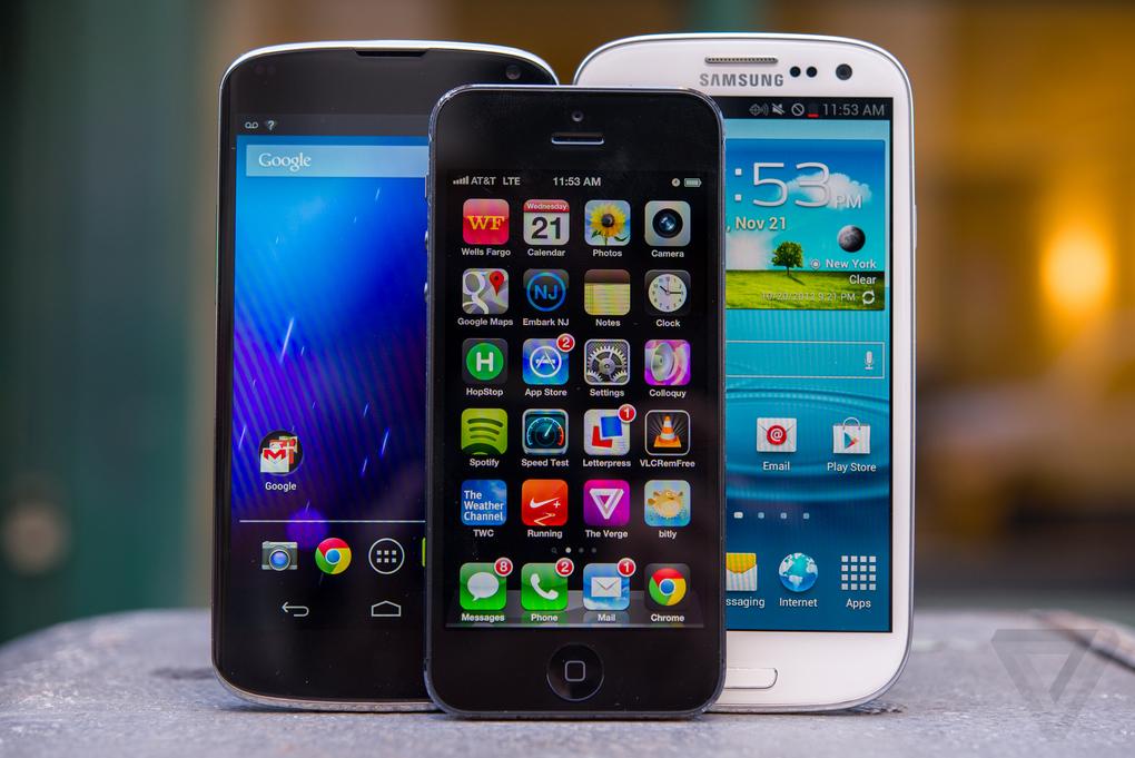 Лучшие смартфоны 2012 года