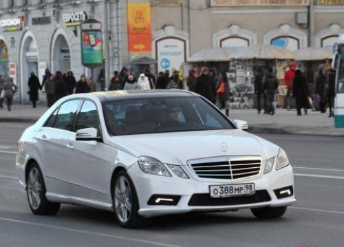 За рулем этой машины неоднократно видели Павла Дурова