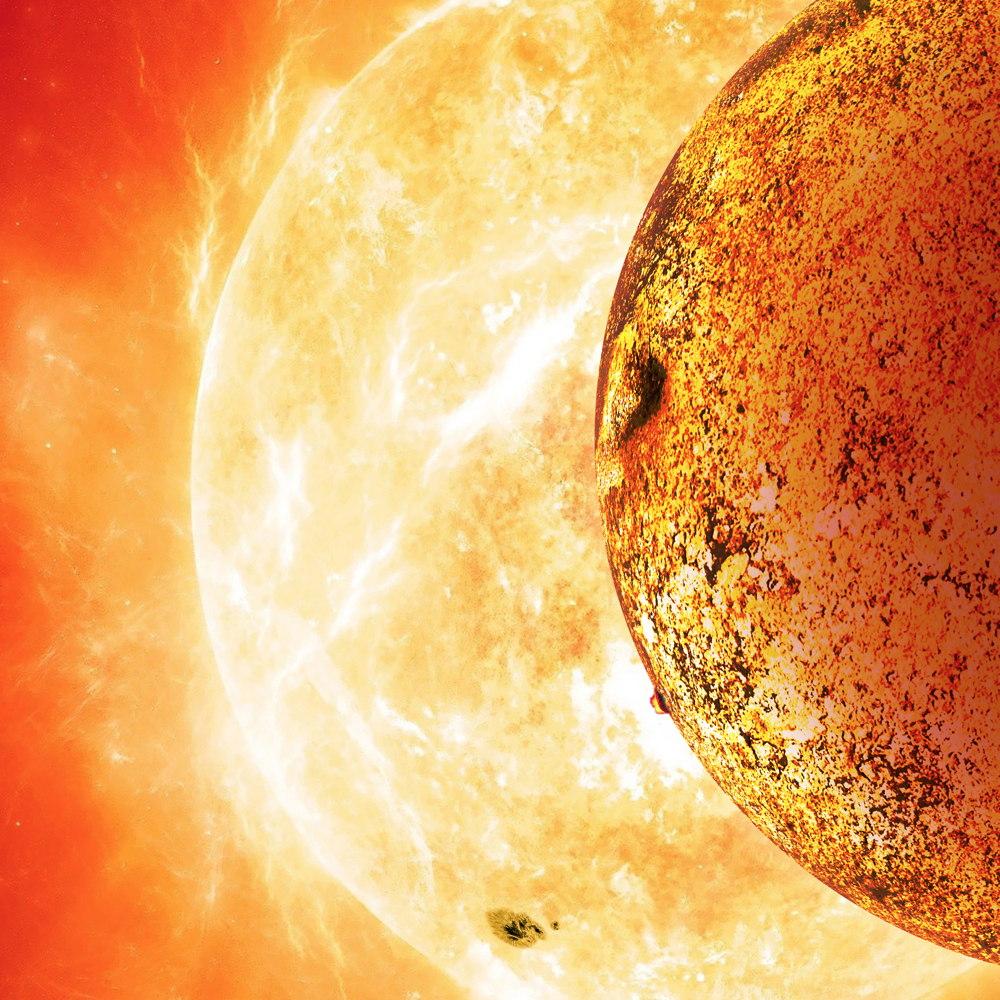 Открытая планета вращается слишком близко к звезде