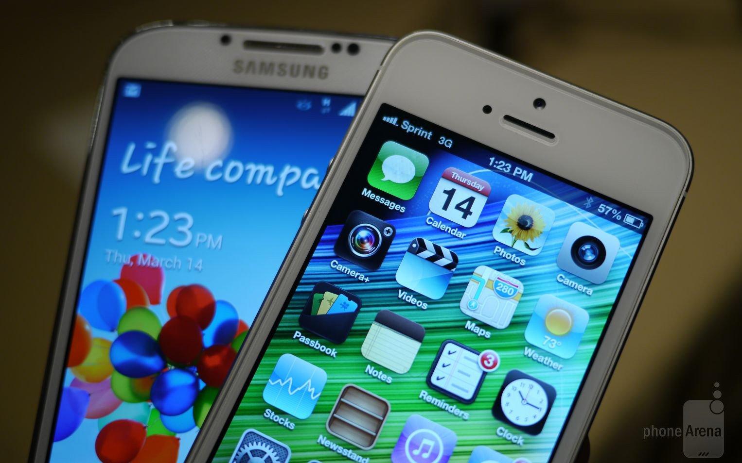 Samsung Galaxy S4 оказался самым мощным, а iPhone 5 - самым слабым