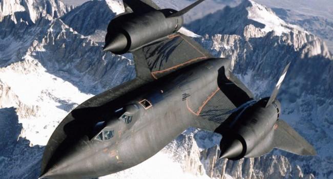 По непонятым причинам разбилось 12 самолетов Lockheed SR-71