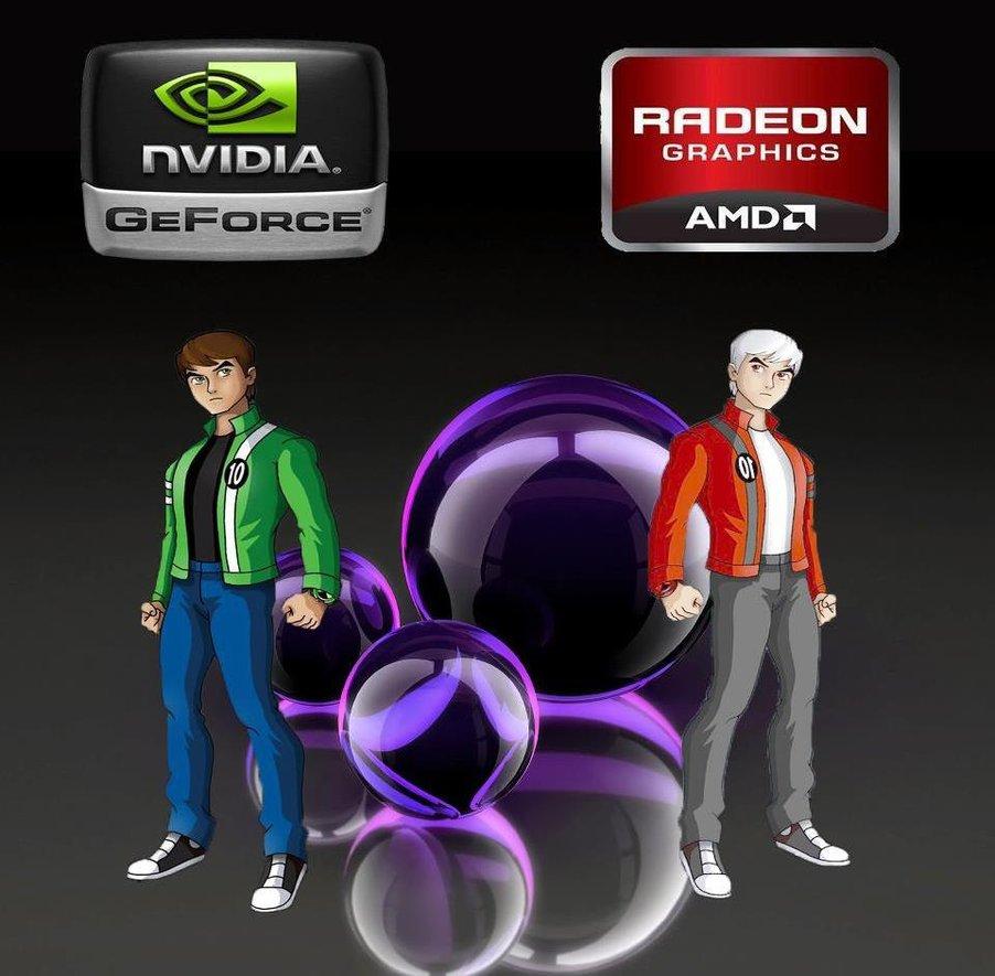 Сравнение видеокарт: Nvidia против AMD