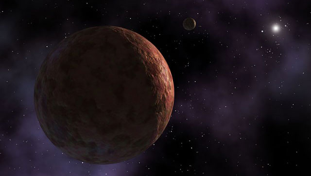 Карликовая планета находится на расстоянии почти 12 млрд км от Солнца