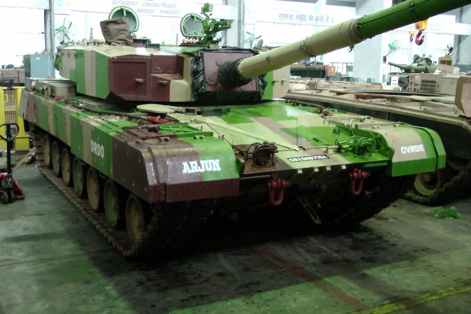 Индия решила активно развивать промышленность танкостроения