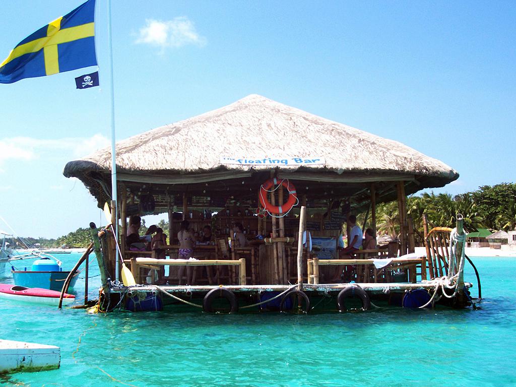 Плавающий бар – Санта-Фе, Филиппины