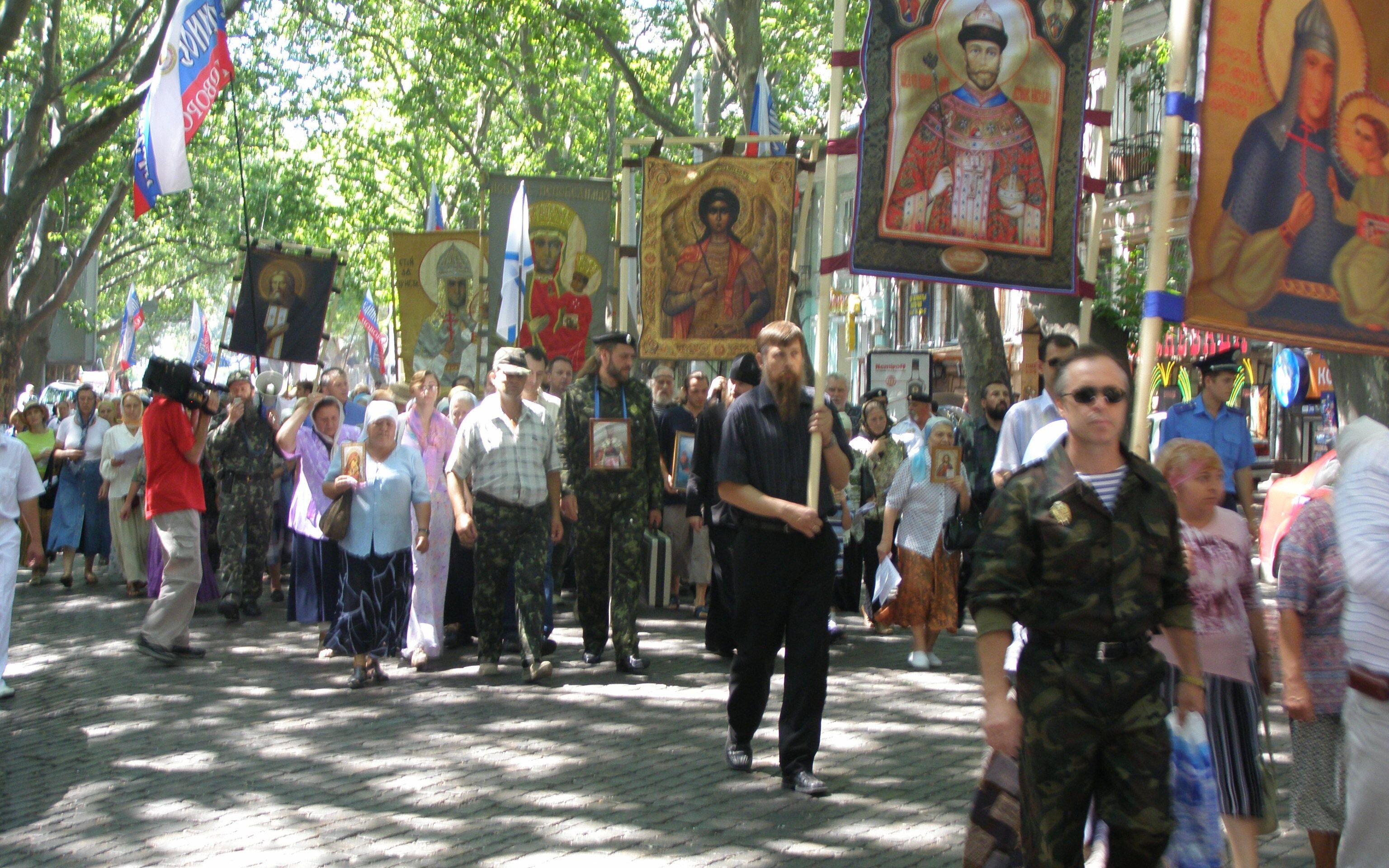 Крестный ход в Одессе