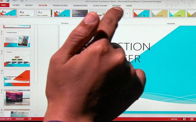 В Office появилась поддержка сенсорных планшетов