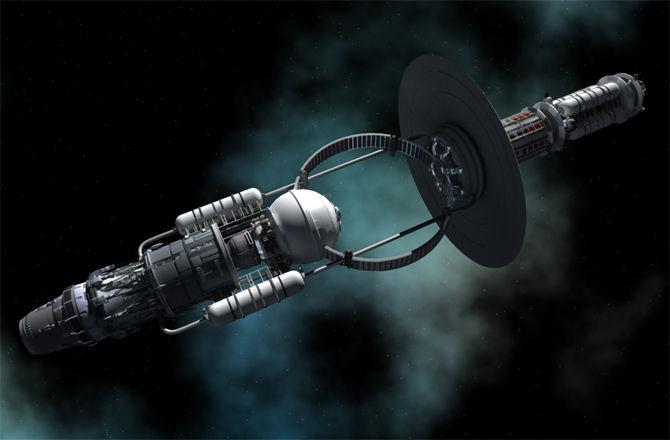 Космические корабли будущего будут летать при помощи черных дыр