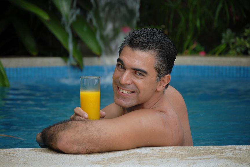 Настоящий фруктовый сок - кладезь витаминов и антиоксидантов