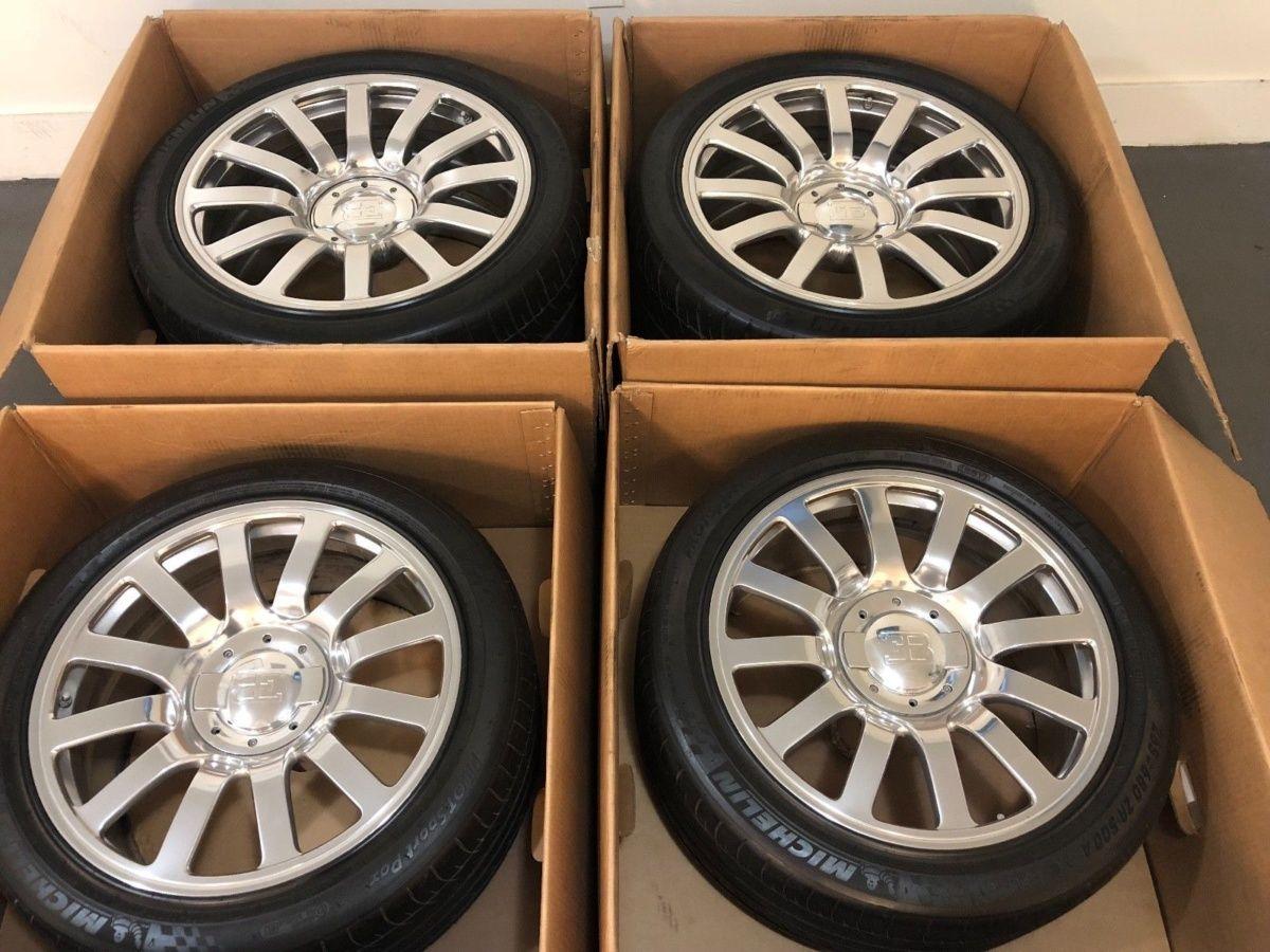 Цена колес с сохранившимися на 85% шинами Michelin составит 100 000 долларов