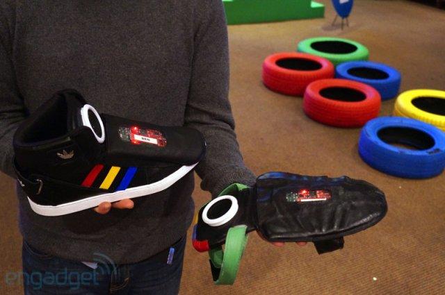 Говорящие кроссовки Adidas от Google