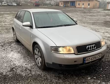 Audi A4 2003 года неплохо справляется с коррозией