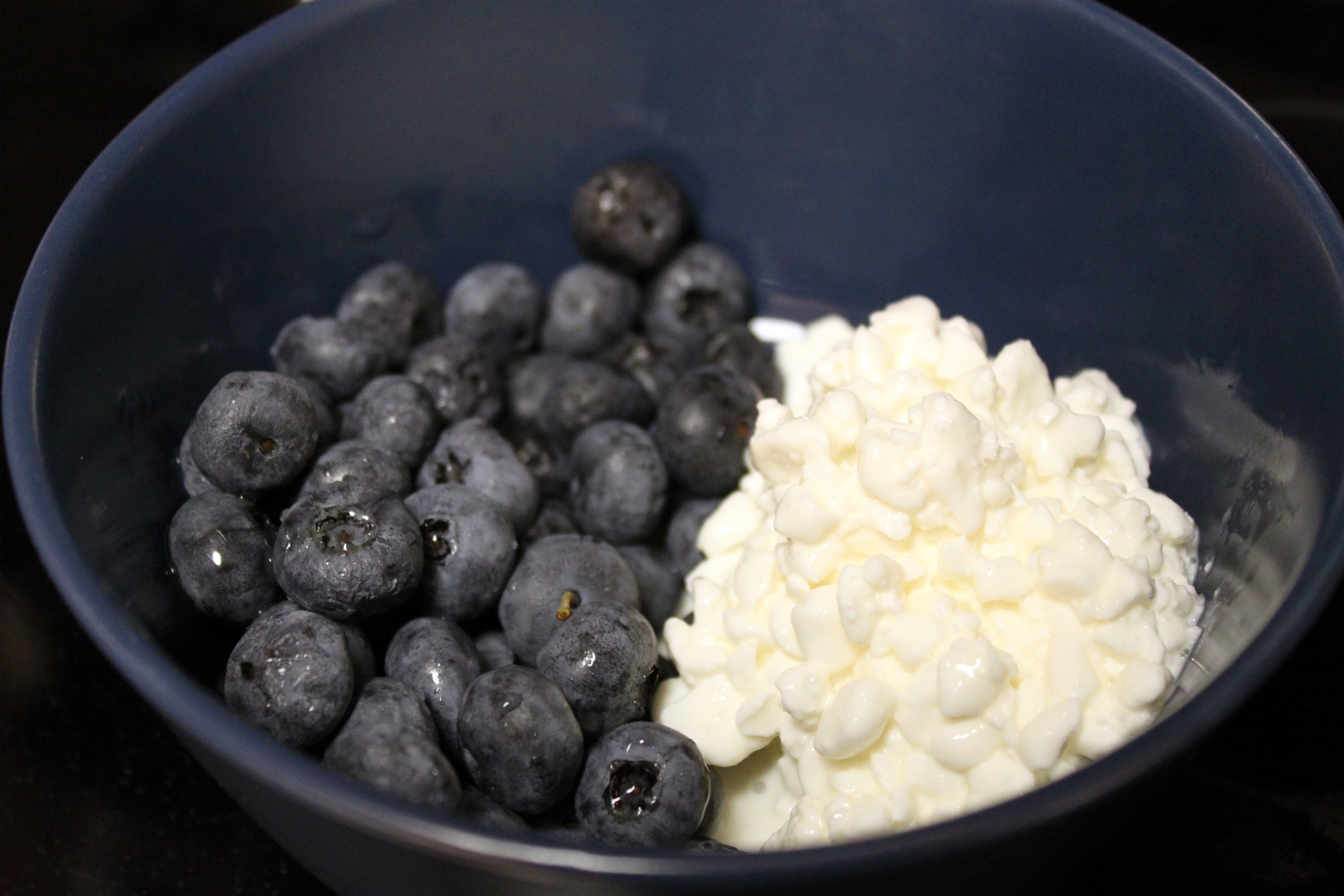 Творог с черникой — лучшая еда после тренировки
