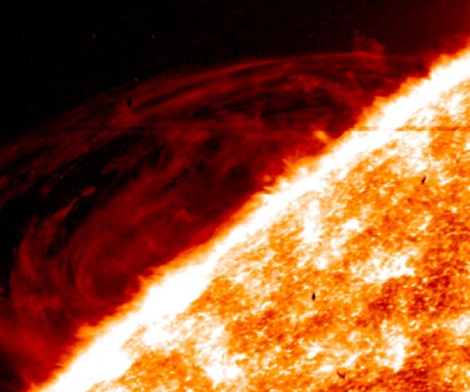 Спутник ИРИС изучает солнечную атмосферу