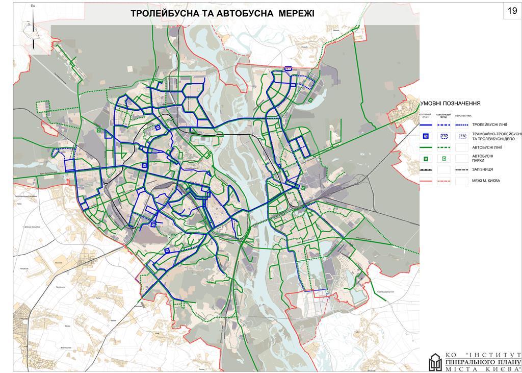 В Киеве увеличат количество маршрутов троллейбусов и автобусов