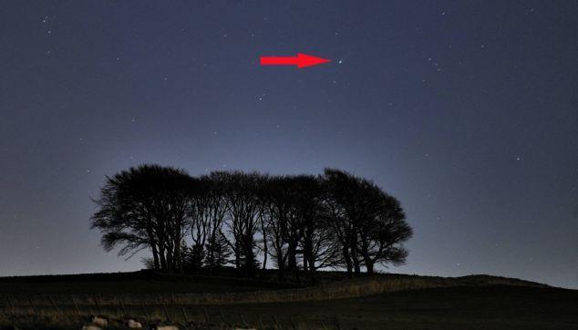 Комету ISON уже видно невооруженным взглядом
