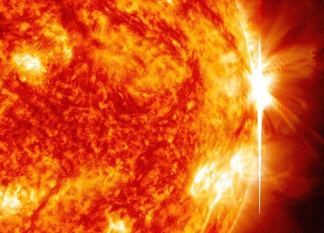 Вспышки на Солнце происходят все чаще