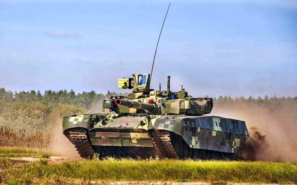 Т-84 Оплот — гроза вооруженных сил Украины