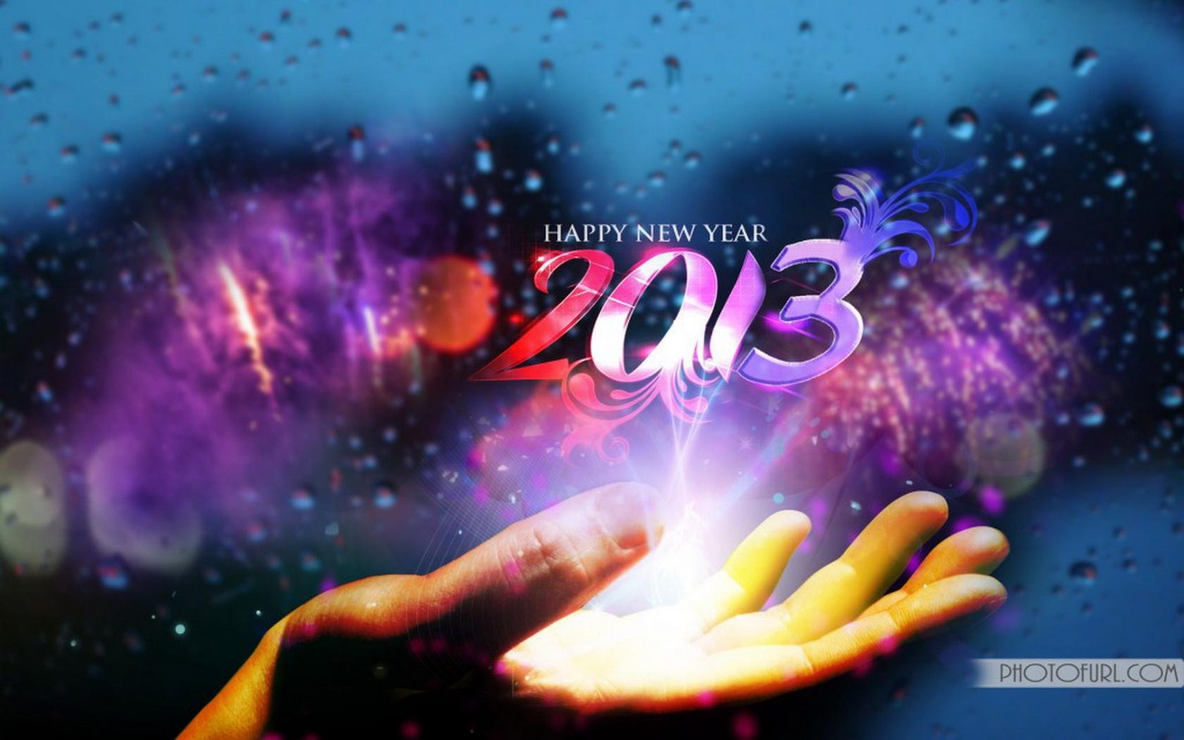 Обои для рабочего стола новый год 2013