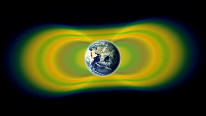 Третий радиационный пояс Земли.