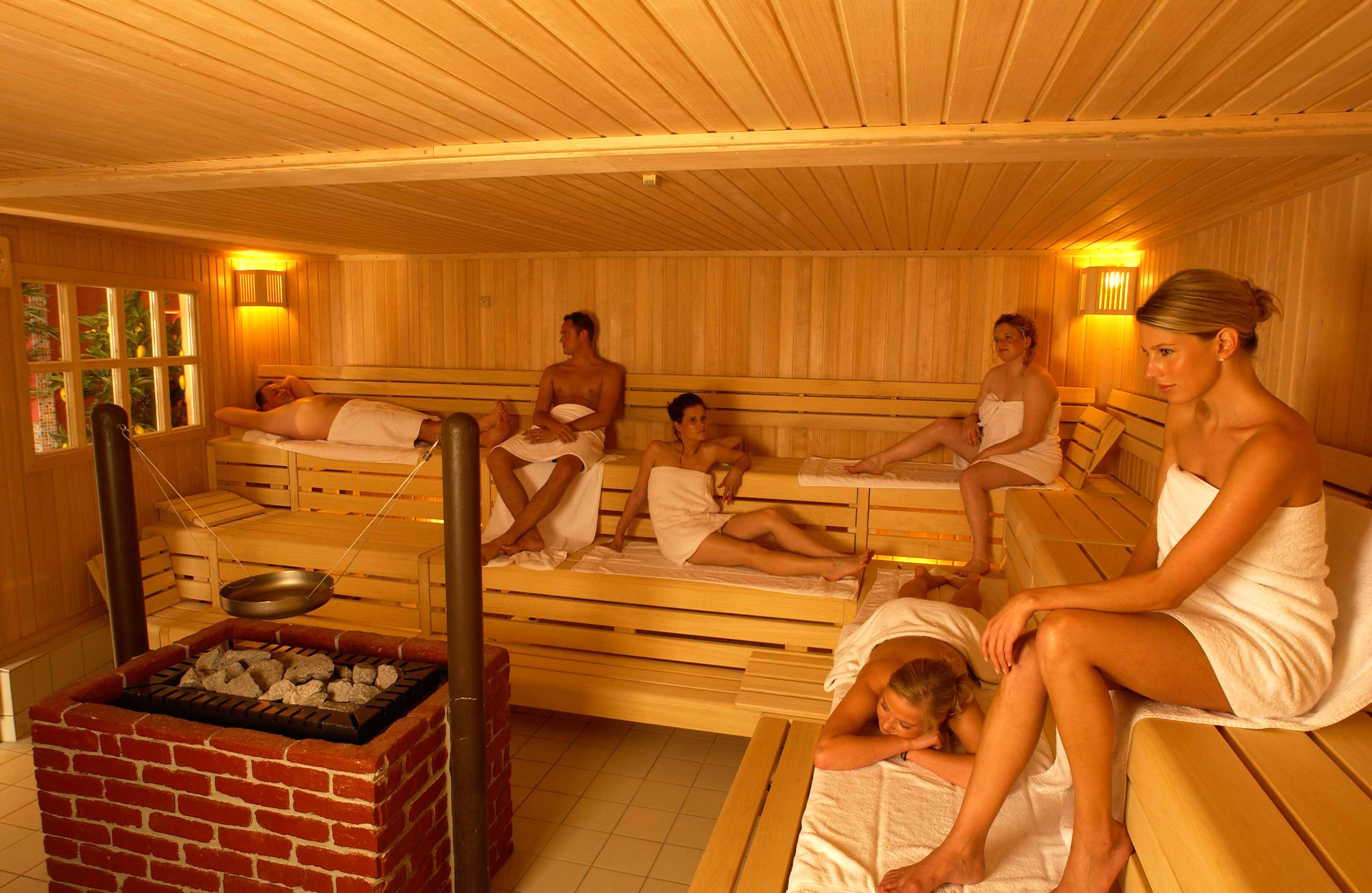 Финской баней можно не только наслаждаться, но и похмеляться