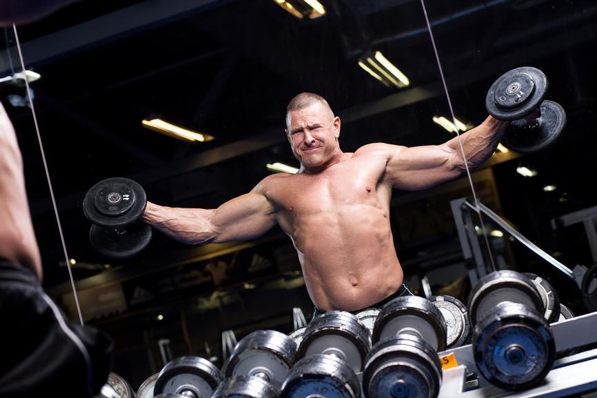 Чем тяжелее упражнения, тем больше мышцы сжигают кислорода