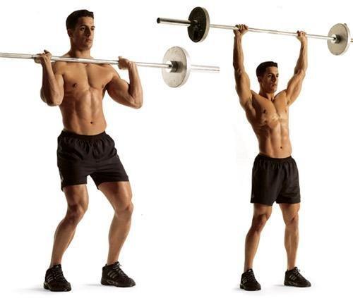Также упражнение укрепляет мышцы ног и коленные сухожилия